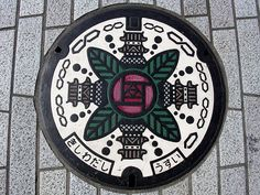 Beautiful Japanese Manhole Covers  http://www.booooooom.com/2012/05/16/beautiful-japanese-manhole-covers/#