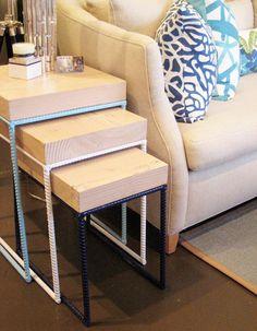 rebar nesting tables