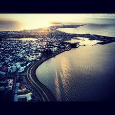 Reykjavík v Höfuðborgarsvæðið