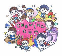 NCT Dream | Chewing Gum fanart