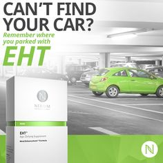 EHT is good for all of your brain strengthening needs! http://www.stephanieortiz.nerium.com/