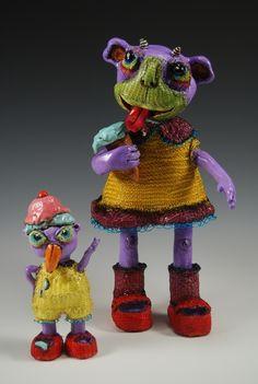 Reina Mia Brill - Standing Sculptures