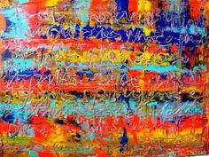 "Saatchi Art Artist Paolo Cervino; Painting, ""About poetry n. 73- a poetry in the color for you"" #art"