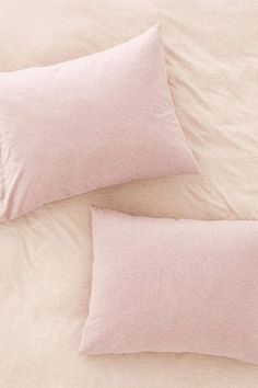 Heathered Jersey Pillowcase Set - Urban Outfitters