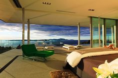 master bedroom with a view...bay of islands, NZ