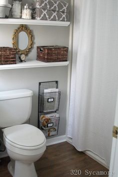 12 Unique Bathroom Organization Ideas