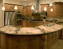 Kitchen, Counter, Peninsula Concrete Countertops Countertop Solutions Santee, CA