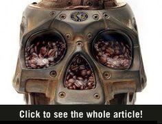 Doodshoofd Koffiemaler - BrainFuel