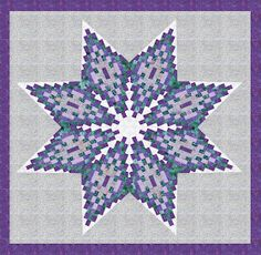 Banyan Batiks challenges all aspects of the batik design process, from innovative tjaps, designs and color, to the finishing of goods that uses Northcott's secret silky finish Free Paper Piecing Patterns, Bargello Quilt Patterns, Star Patterns, Star Quilts, Quilt Blocks, Star Blocks, Watercolor Quilt, Batik Quilts, Quilting Tutorials