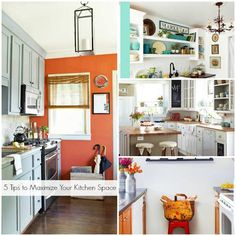 5 tips to maximize your kitchen space and make a tiny kitchen feel luxurious from @Remodelaholic .com .com .com at Homes.com