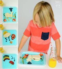 Inspiration For Getting Picky Eaters To Eat! howdoesshe.com #pickyeaters #kidsfood
