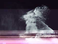 °glitch°  #water  Surreal and conceptual photos, by Kyle J. Thompson.