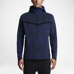 ENGINEERED WARMTH The Nike Tech Knit Windrunner Men's Jacket reinvents the iconic track jacket with new Nike Tech Knit, an engineered, body-mapped fabric that delivers superior fit plus warmth and ventilation exactly where you need it for all-day comfort. Zoned Comfort Nike Tech Knit is a unique blend of nylon and cotton that provides warm, sweater-like comfort with a soft, luxurious feel. Double-knit construction on the chest, head and shoulders helps retain heat, while micro-mesh panels…