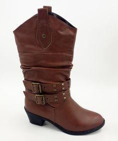 Love this Brown Dallas Boot on #zulily! #zulilyfinds