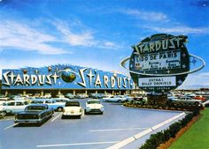 1958 - Stardust Hotel & Casino opens at 3000 Las Vegas Blvd. South, on the Las Vegas Strip - at the time, the world's largest motel.