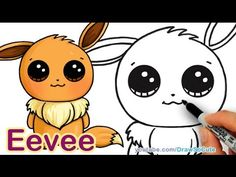Pokemon drawings for kids how to draw step by step easy and cute architects near me . pokemon drawings for kids Easy Drawings Sketches, Easy Drawings For Kids, Kawaii Drawings, Drawing For Kids, Cute Drawings, People Drawings, Drawing Ideas, Pokemon Eevee, Cute Pokemon