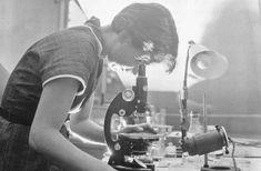 Rosalind Franklin, en 1955.