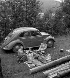 VW Picnic Awesome vintage shot!!!!