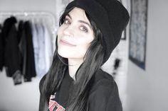 Youtubers, Winter Hats, Stickers, Black, Fashion, Anxiety, Moda, Black People, Fashion Styles