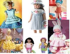 Crochet free doll clothes patterns and free crochet doll patterns from Examiner
