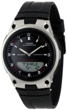 Casio Men%27s AW80-1AV Forester Ana-Digi Databank 10-Year Battery Watch