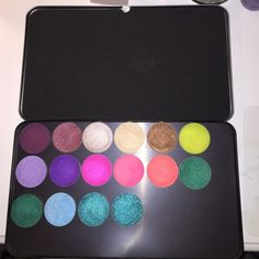 """Makeup forever bundle 100% Authentic Brand new """"make up for ever"""" magnetic tin. Sephora always sells out of these quick! Includes 16 """"make up for ever"""" Artist shadows in store 21 per shadow and 15 for palette NEW AND NEVER USED ANY OF THEM. NO TRADES!! WILL INCLUDE """"HIGH END"""" GIFT FOR FREE. (Could be a bag full of goodies or one expensive item) Makeup Forever Makeup Eyeshadow"""