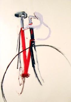 Bicycle painting.