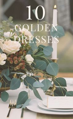 Fun, flirty, and oh-so-girly! Fall in love with mix and match dresses in gold