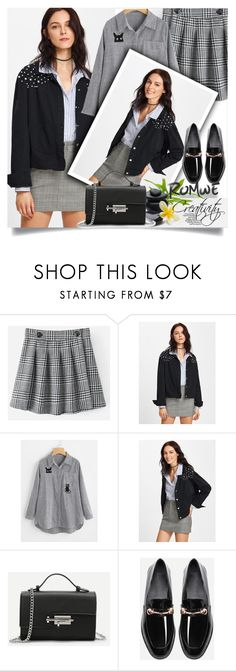 """ROMWE X/10"" by creativity30 ❤ liked on Polyvore featuring romwe"