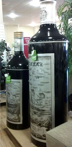 life sized wine bar from HomeGoods