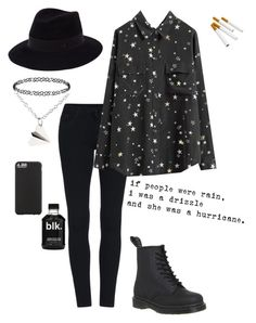"""""""All the loves still there I just don't know what to do with it now"""" by simply-punk ❤ liked on Polyvore featuring Dr. Martens, Dorothy Perkins, Maison Michel, Case-Mate, women's clothing, women, female, woman, misses and juniors"""