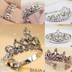Love Crown style? #jeulia #crownrings #cocktailrings #fashionjewelry