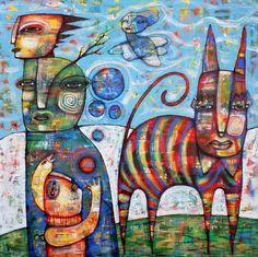Dan casado: 2 тыс изображений найдено в Яндекс.Картинках Art Of Dan, Selling Art Online, Abstract Animals, Whimsical Art, Cat Art, Painting Inspiration, Altered Art, Collage Art, Creative Art