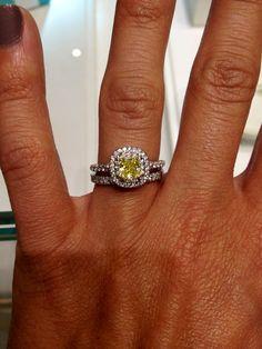 Tiffany's yellow diamond ring...I want so bad