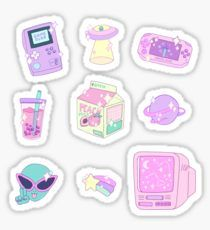 Aesthetic Stickers Ungu Tumblr Lucu Stiker