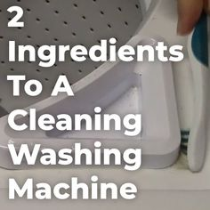 Learn how to clean a washing machine without using harsh chemicals. With just these two non-toxic ingredients you'll be on your way to freshen laundry!