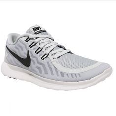 online store ff6a7 e51b6 Nike Free 5.0 Women s Training Shoes Size 6.5 Nike Free lightweight shoe in  light grey with