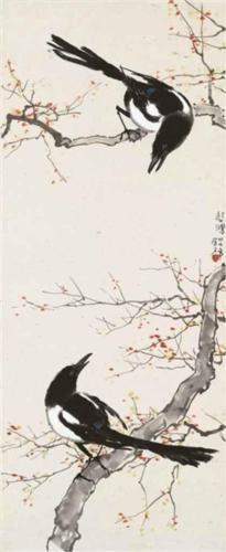 Xu Beihong (Chinese: 1895 - 1953) - Spring Call (1938)