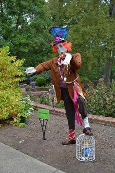 Scarecrow Winner of 'Best Literary Theme' 2012 - Mad ScraHatter
