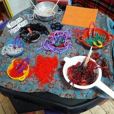 Learning and Exploring Through Play: Sensory Tuff Trays Motor Activities, Craft Activities, Tuff Tray, Spring Festival, Chinese New Year, Fine Motor, Trays, Exploring, January