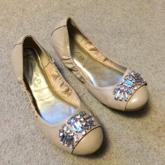 Clear Stone Tan Flats Clear Stone Tan Flats. Size 8 1/2. Worn twice. Great condition. No box. Unisa Shoes Flats & Loafers