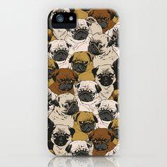 Social Pugz iPhone & iPod Case by Huebucket - $35.00