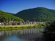 """Erin and Spence travel to Pennsylvania for a """"writer's retreat."""" Erin is from Eaton (fictitious place), PA, a small city nestled among the mountains and along a river."""