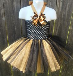 Fleur De Lis Tutu Dress Halter/Tube dress can be by camyscloset, $30.00