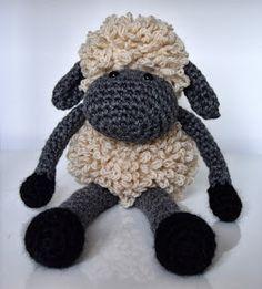 Curly Girl Coop: Sheldon the Sheep Anleitung für ein süßes Schaf - englisch