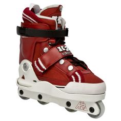 2011 K2 Varsity Inline Skates   These Varsity inline skates are new to the K2 collection and are equipped to give you a good fit and flex all while maintaining a fun look. They have an easy to lock soul plate and may have a bold look, but are feather light.