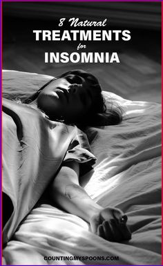 8 natural treatments for insomnia that I've personally tried. How well they helped and which ones I recommend. Chronic Fatigue Syndrome, Chronic Illness, Chronic Pain, Sleep Well, How To Get Sleep, Help Me Fall Asleep, Mindfulness Based Stress Reduction, Sleep Supplements