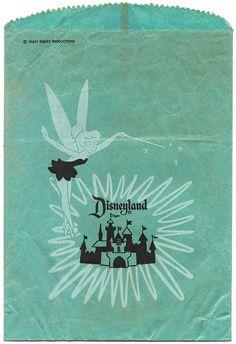vintage Disneyland bag