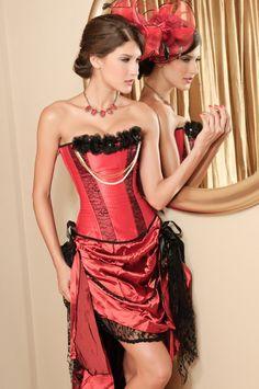 Pearl Seductress Burlesque Corset