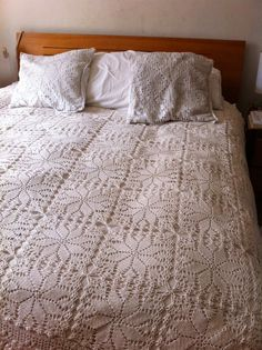 1000 images about colchas tejidas on pinterest crochet - Colchas tejidas a crochet ...